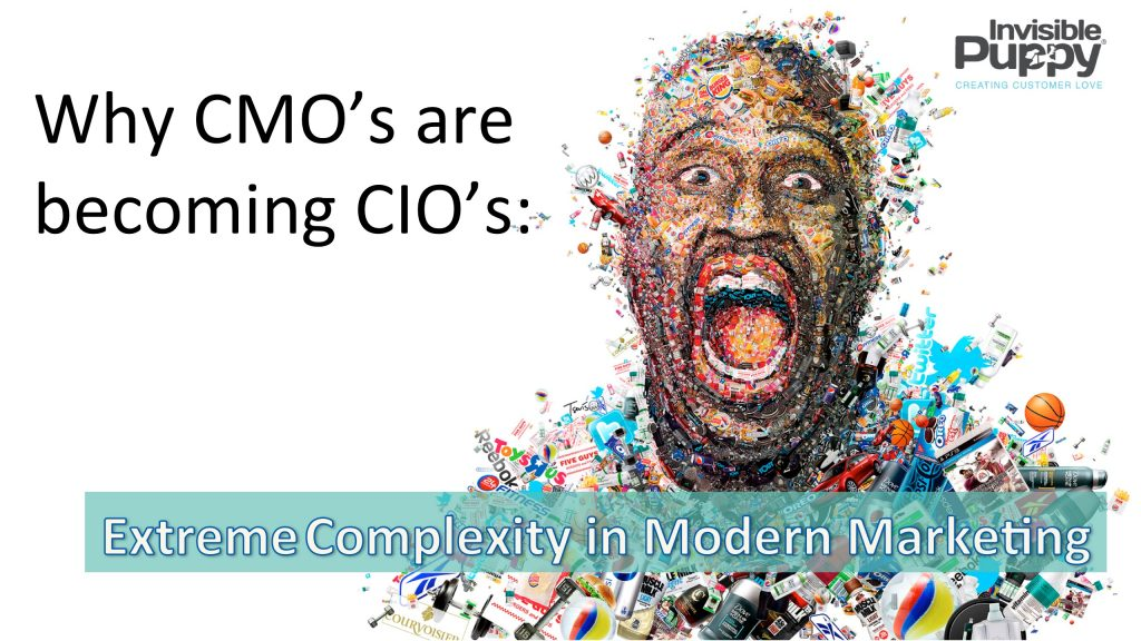 Why CMO's are becoming CIO's: Extreme Complexity - B2B Marketing Experiences | B2B Marketing Experiences